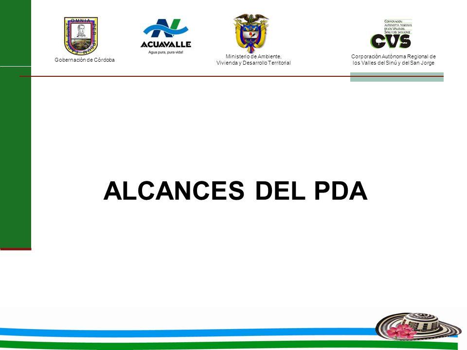 ALCANCES DEL PDA