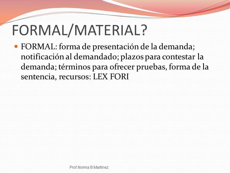 FORMAL/MATERIAL