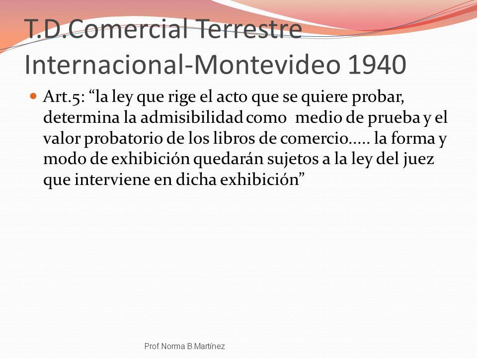 T.D.Comercial Terrestre Internacional-Montevideo 1940