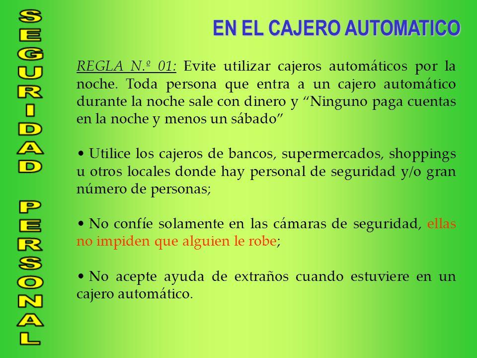 EN EL CAJERO AUTOMATICO