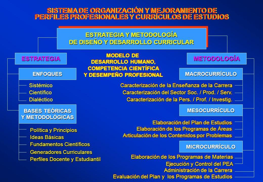 SISTEMA DE ORGANIZACIÓN Y MEJORAMIENTO DE