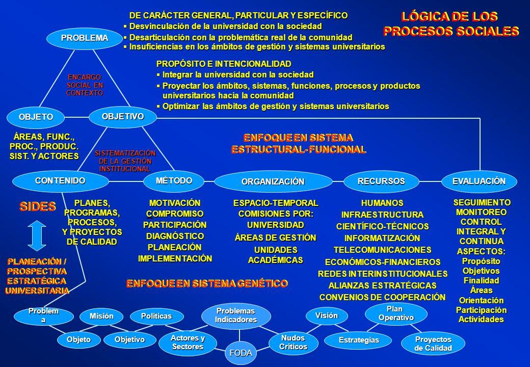 LÓGICA DE LOS PROCESOS SOCIALES SIDES