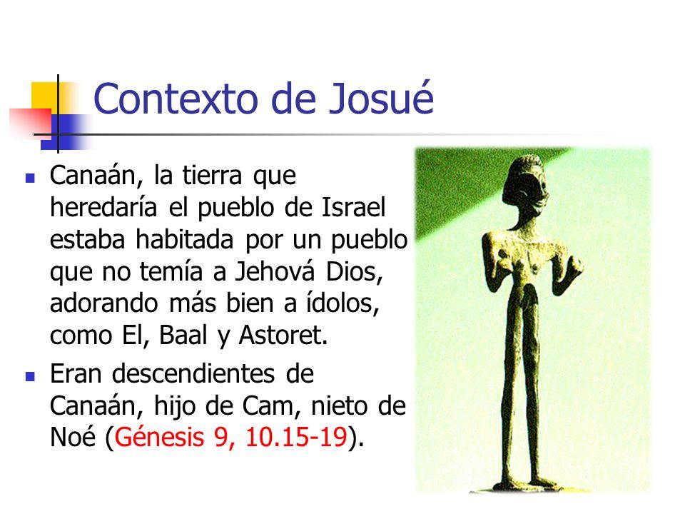 Contexto de Josué