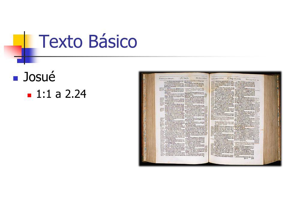 Texto Básico Josué 1:1 a 2.24