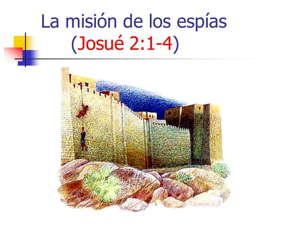 La misión de los espías (Josué 2:1-4)