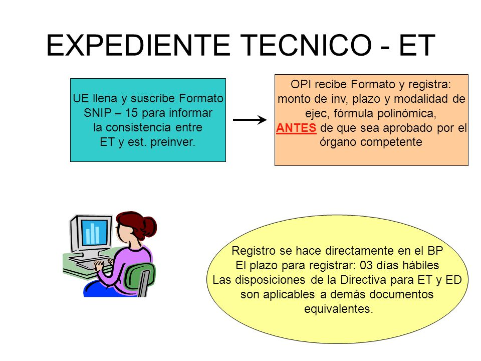 EXPEDIENTE TECNICO - ET