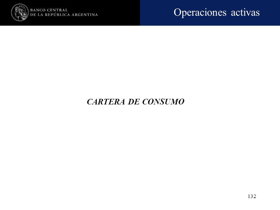 CARTERA DE CONSUMO