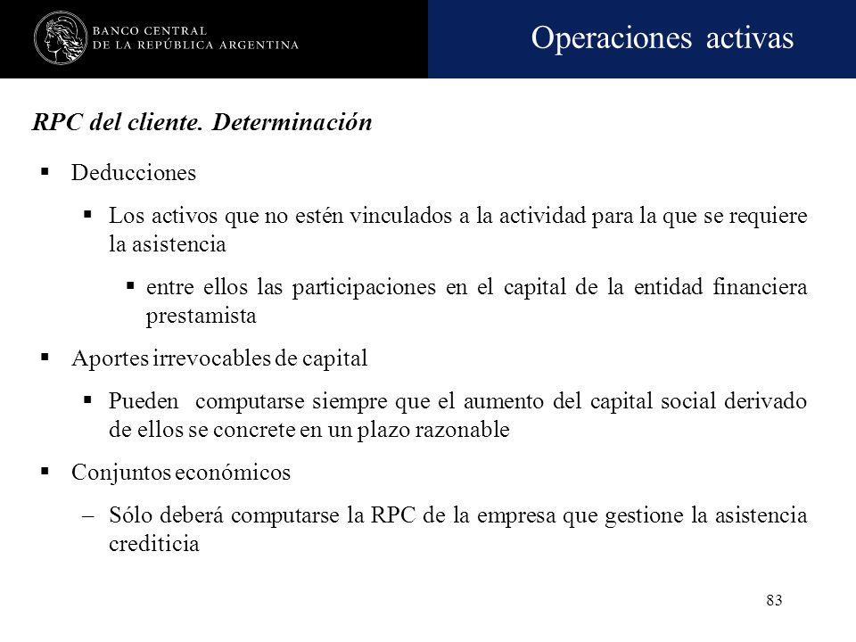 RPC del cliente. Determinación