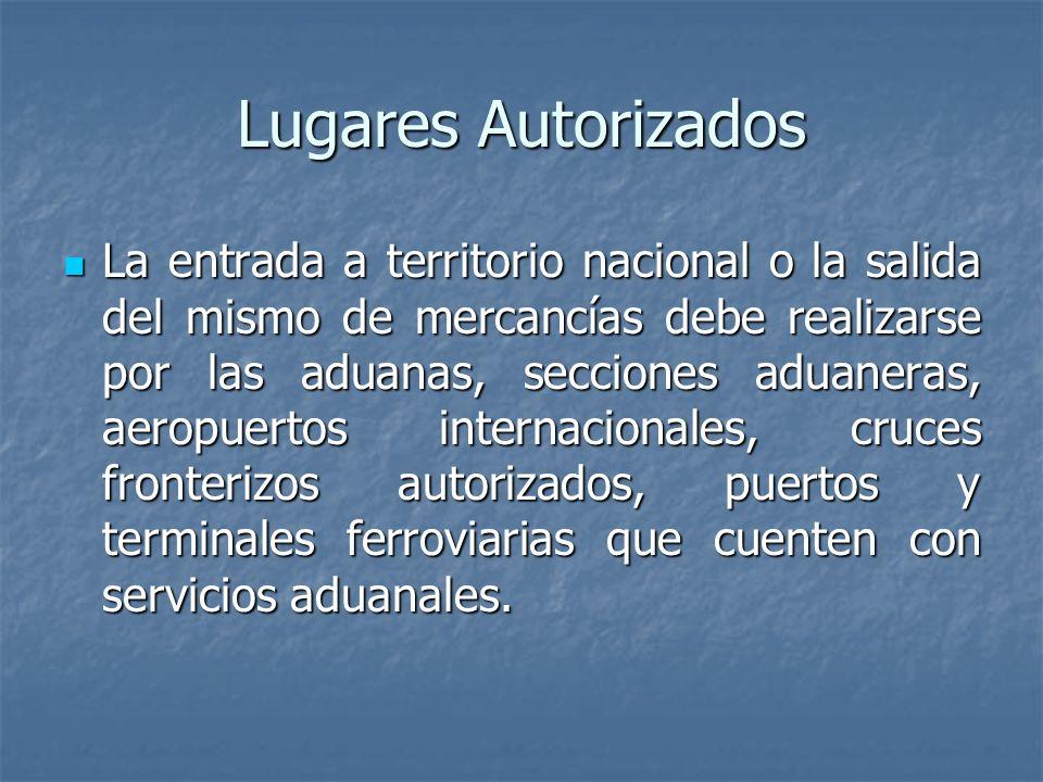 Lugares Autorizados