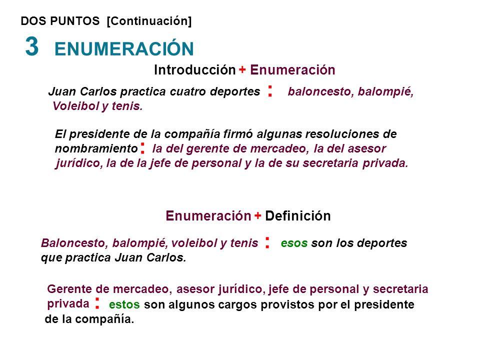 3 ENUMERACIÓN : : : : Introducción + Enumeración