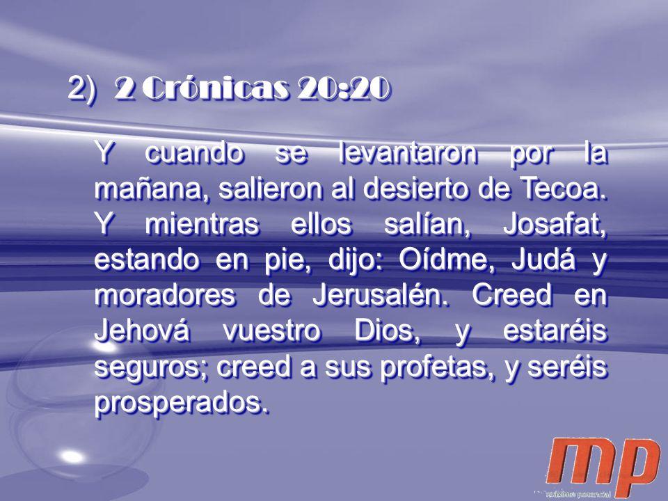 2 Crónicas 20:20