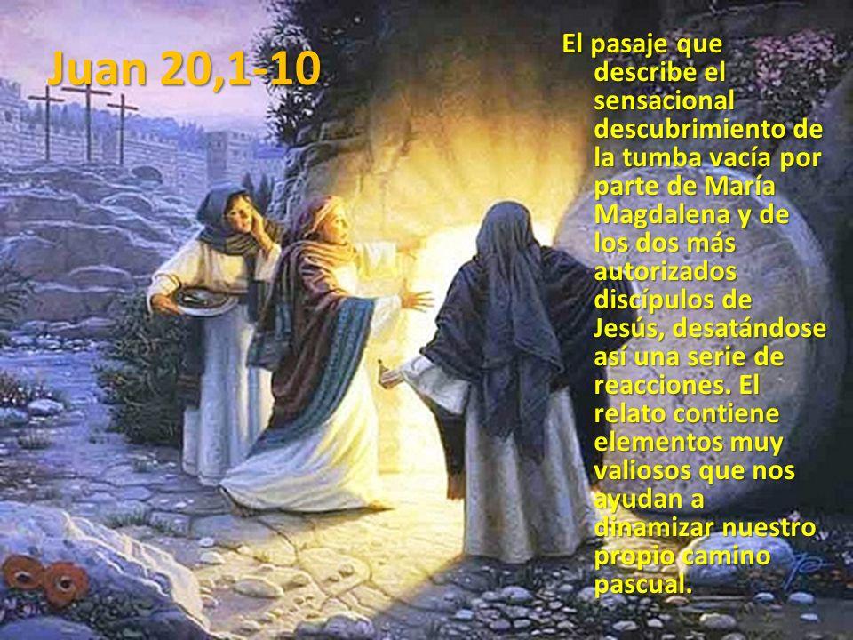 Juan 20,1-10
