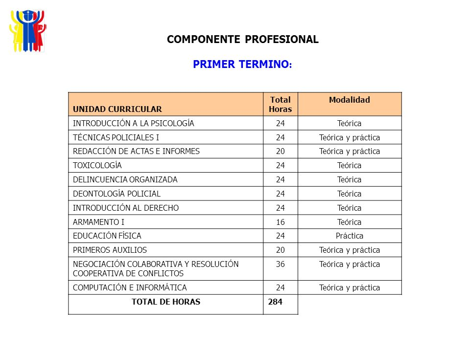 COMPONENTE PROFESIONAL