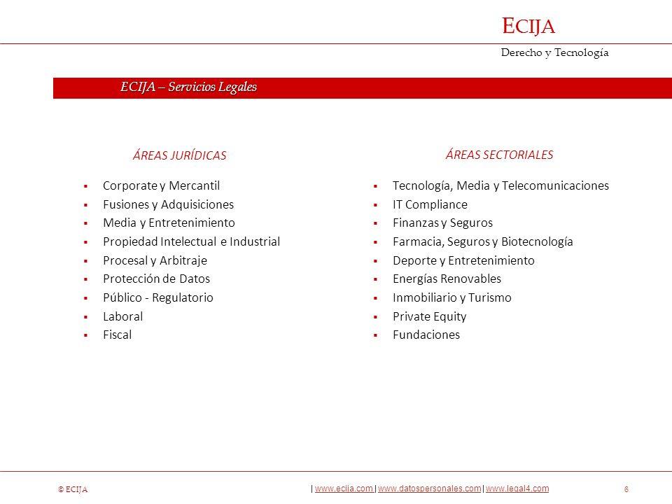 ECIJA | Firma líder en Servicios Legales y de Seguridad de la Información