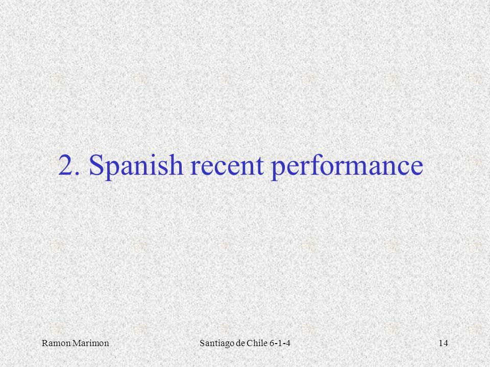 2. Spanish recent performance
