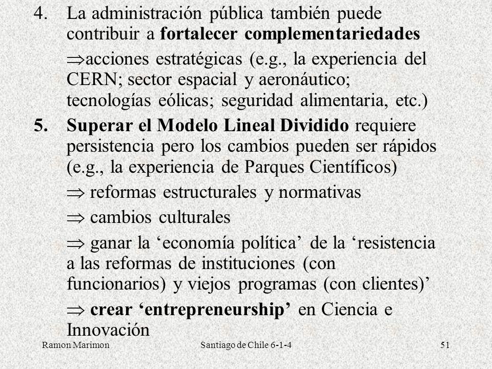  reformas estructurales y normativas  cambios culturales