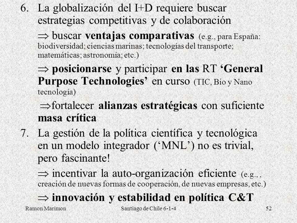  innovación y estabilidad en política C&T