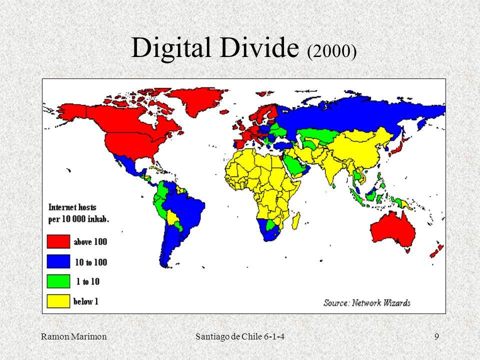Digital Divide (2000) Ramon Marimon Santiago de Chile 6-1-4