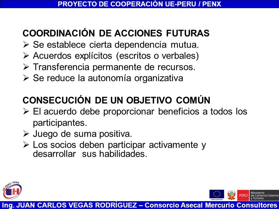 PROYECTO DE COOPERACIÓN UE-PERU / PENX