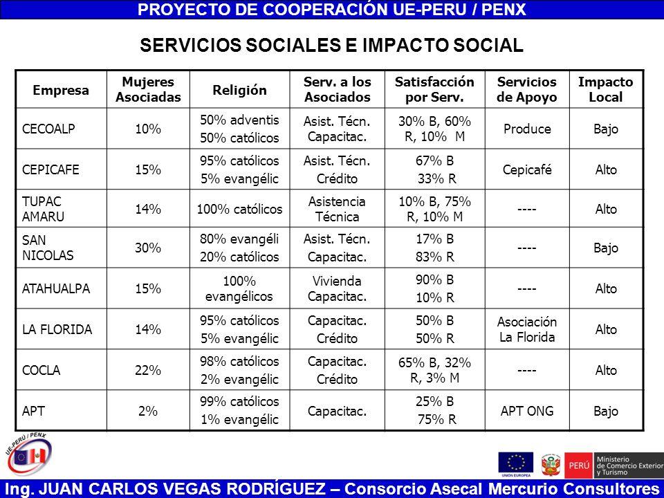 SERVICIOS SOCIALES E IMPACTO SOCIAL