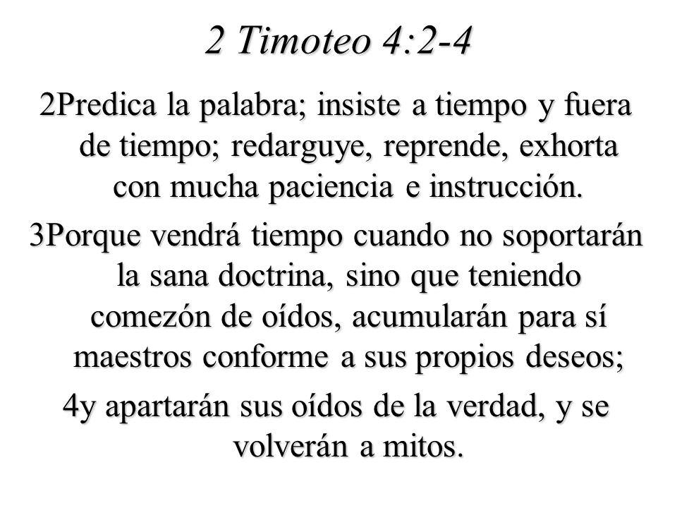 2 Timoteo 4:2-4