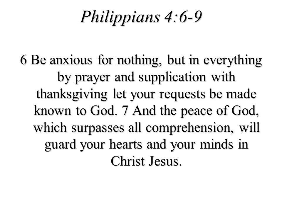 Philippians 4:6-9