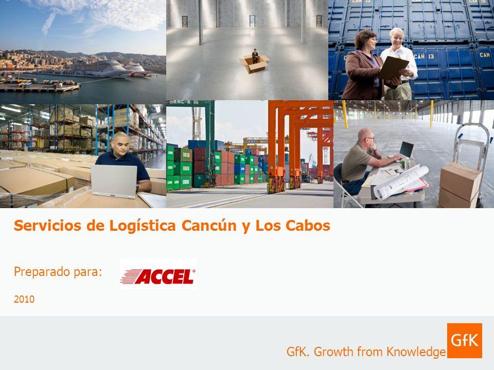 Servicios de Logística Cancún y Los Cabos Preparado para: 2010