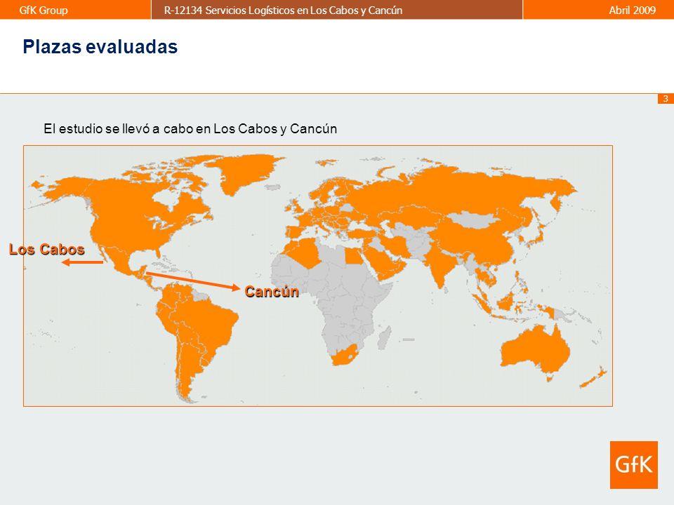Plazas evaluadas Los Cabos Cancún