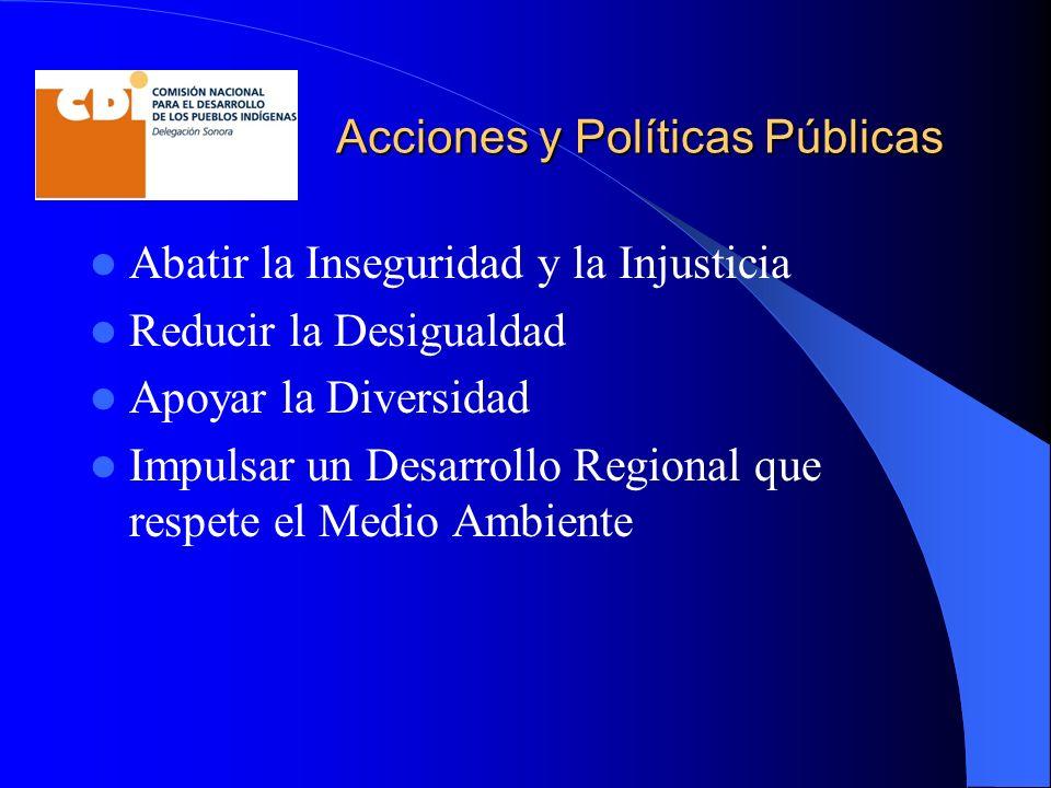 Acciones y Políticas Públicas