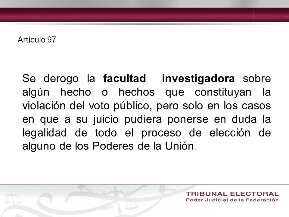 Artículo 97