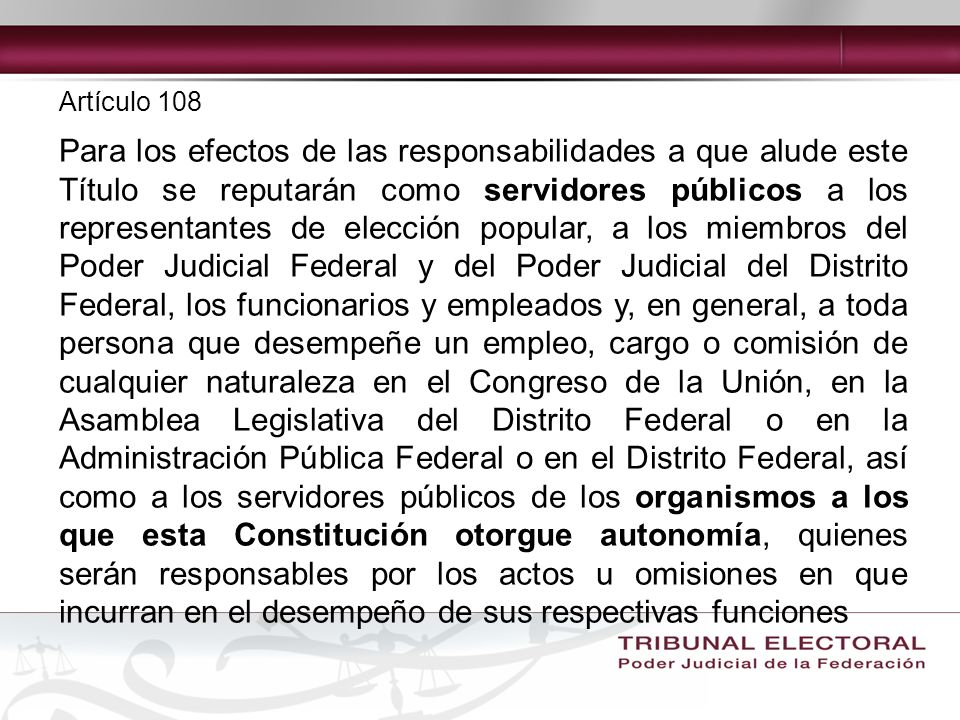Artículo 108