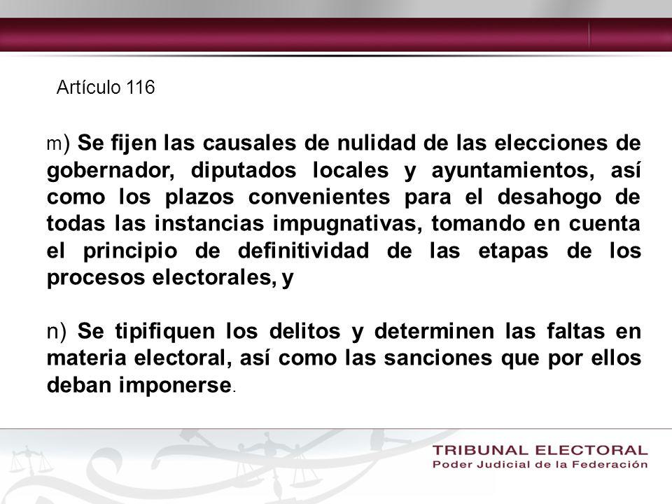 Artículo 116