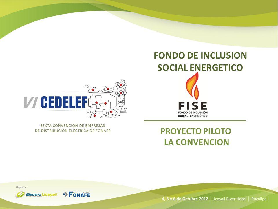 FONDO DE INCLUSION SOCIAL ENERGETICO