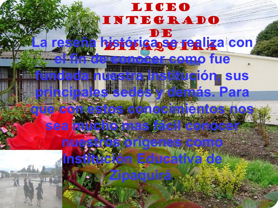 LICEO INTEGRADO DE ZIPAQUIRA