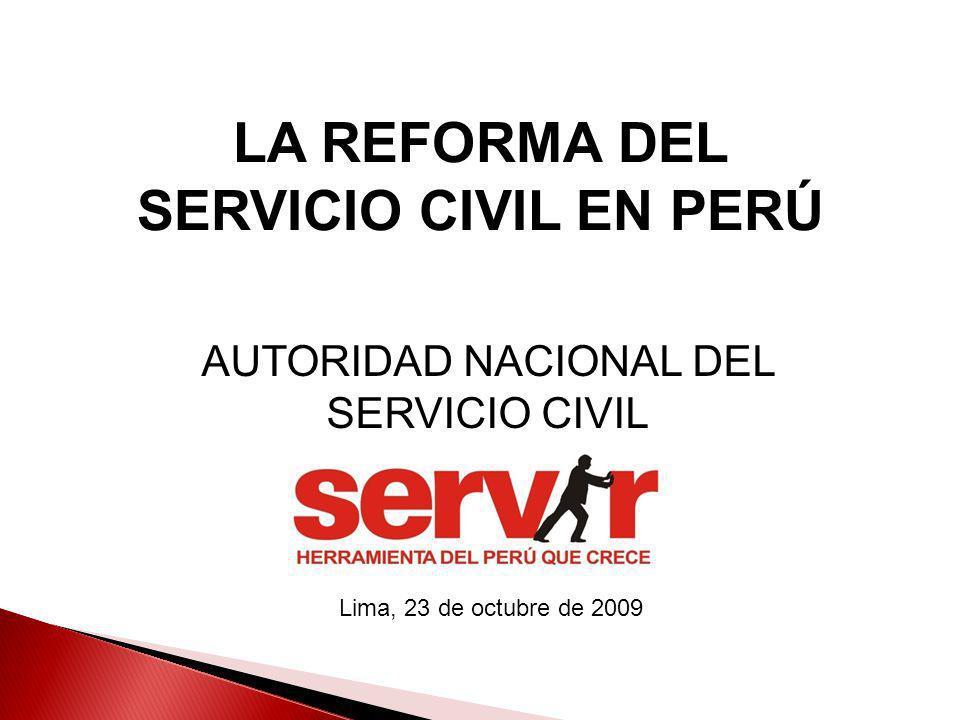 AUTORIDAD NACIONAL DEL SERVICIO CIVIL