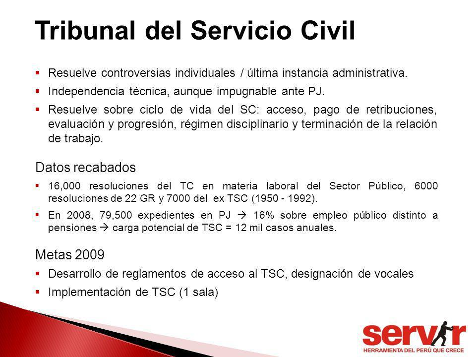 Tribunal del Servicio Civil