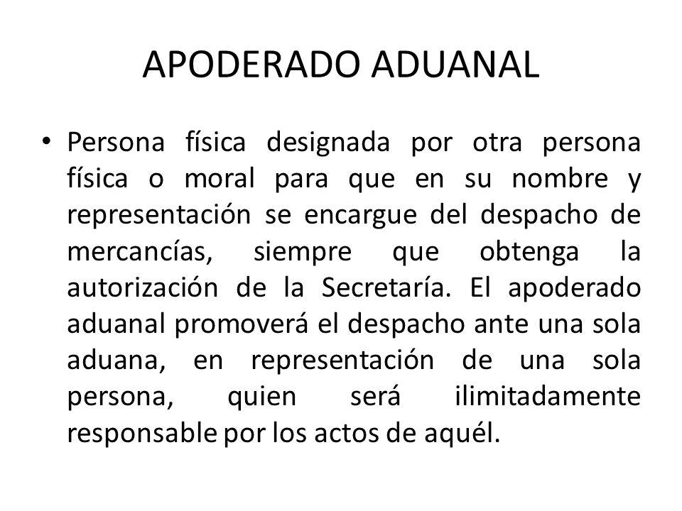 APODERADO ADUANAL