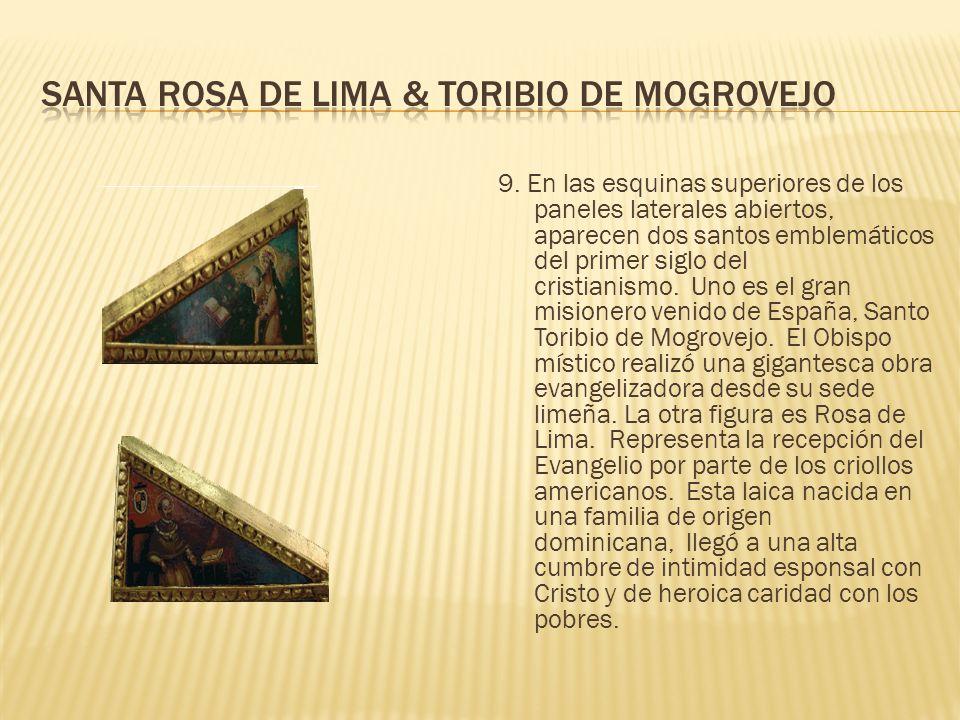 Santa rosa de lima & Toribio de mogrovejo