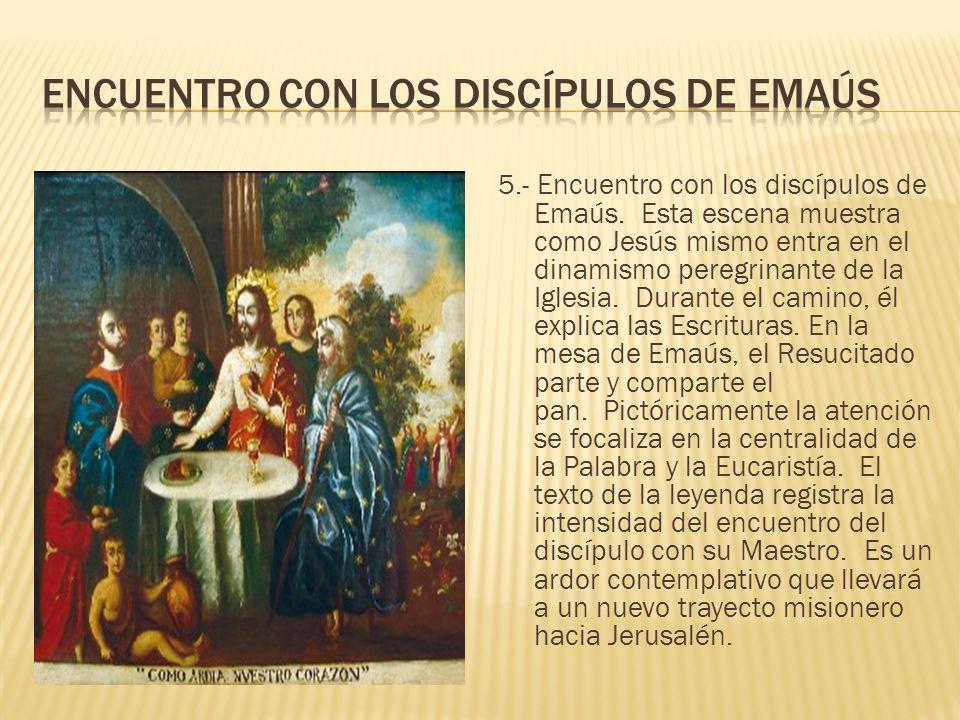 Encuentro con los discípulos de Emaús