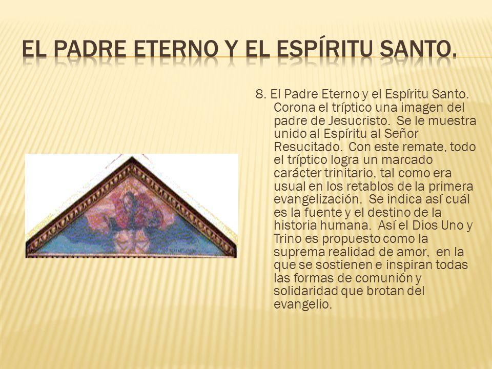 El Padre Eterno y el Espíritu Santo.
