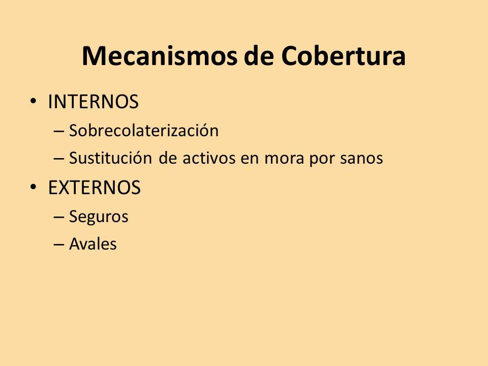 Mecanismos de Cobertura
