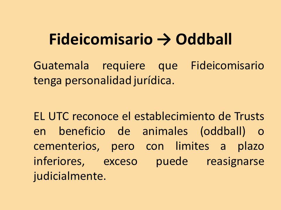 Fideicomisario → Oddball