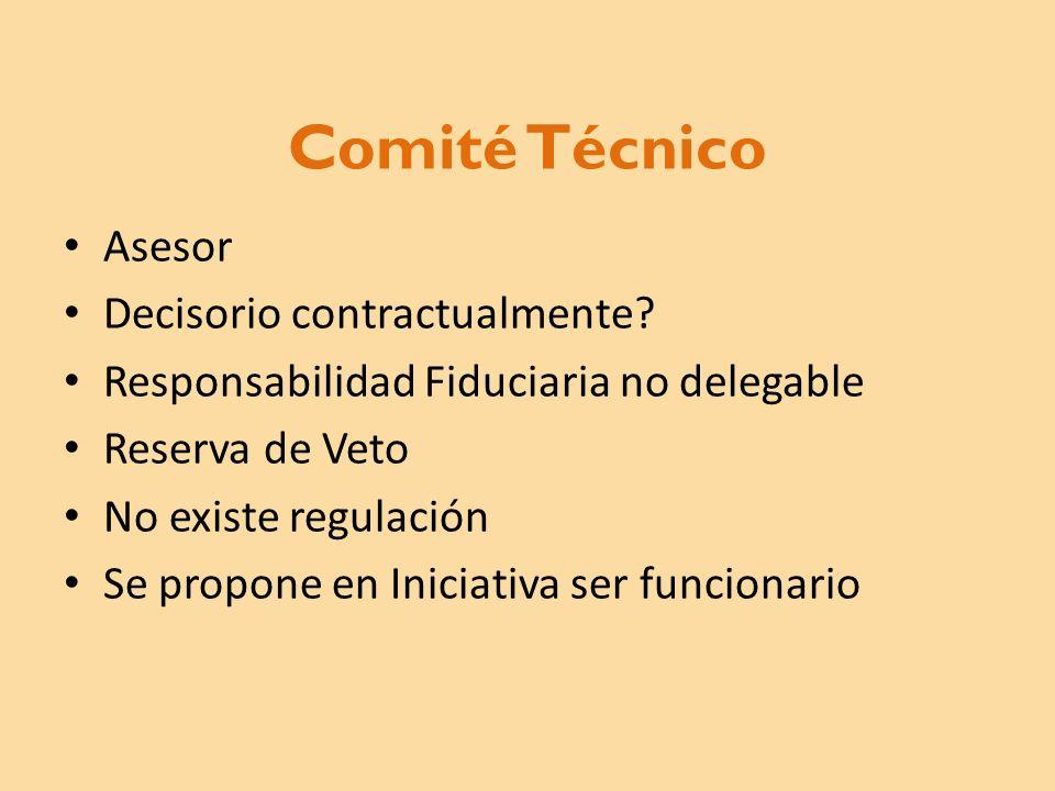 Comité Técnico Asesor Decisorio contractualmente