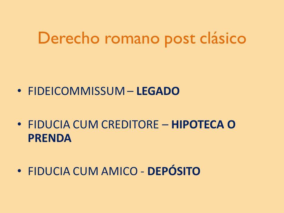 Derecho romano post clásico