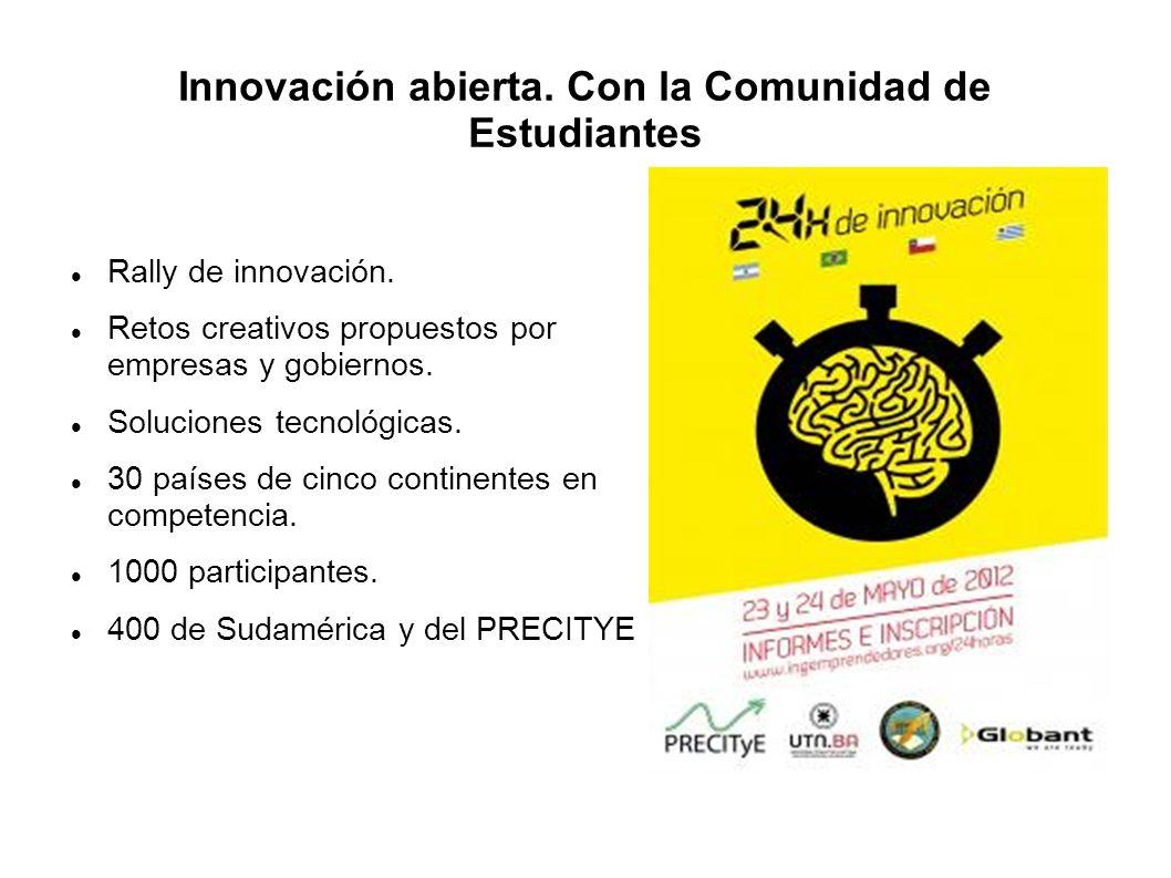 Innovación abierta. Con la Comunidad de Estudiantes