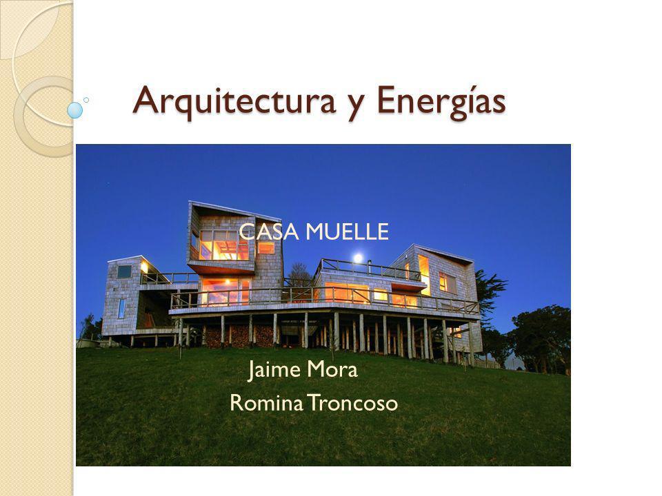 Arquitectura y Energías