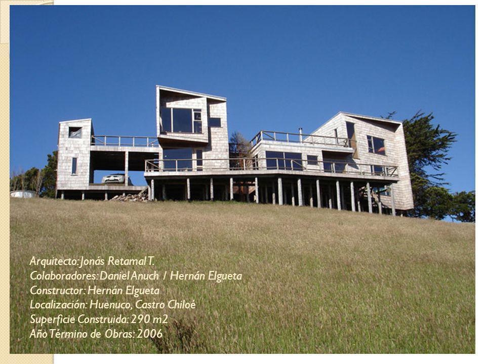 Arquitecto: Jonás Retamal T