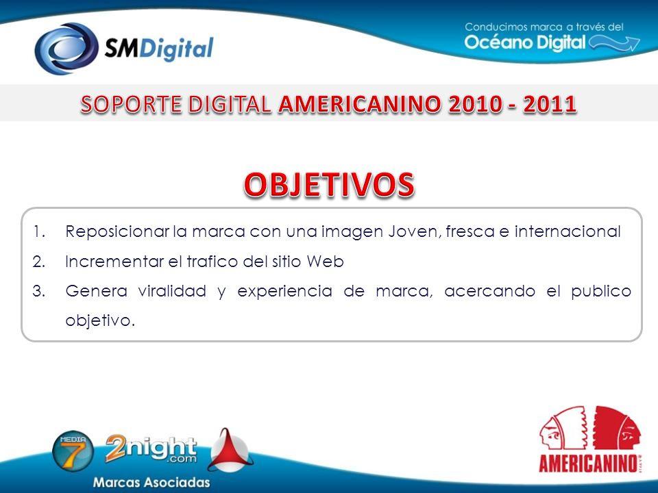 SOPORTE DIGITAL AMERICANINO 2010 - 2011