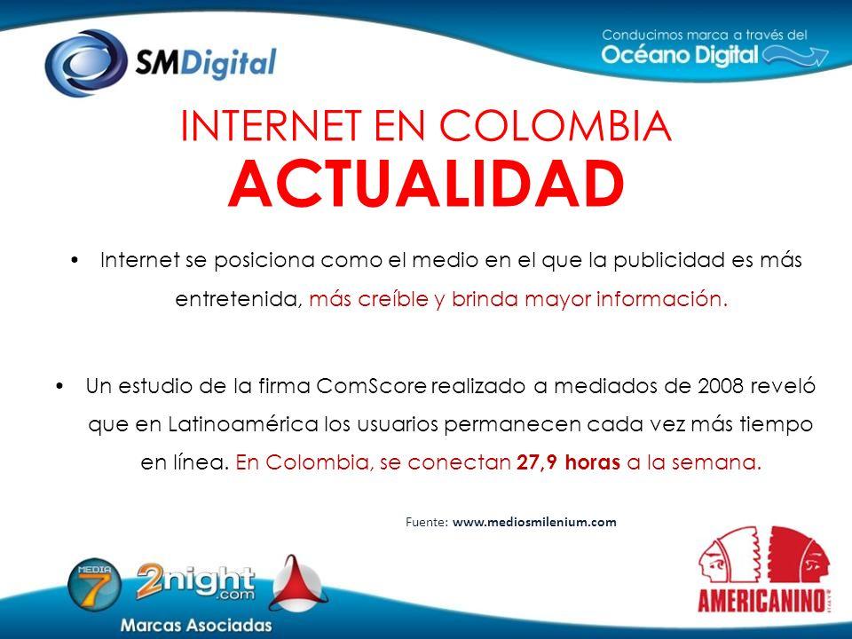 INTERNET EN COLOMBIA ACTUALIDAD
