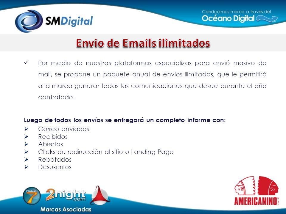 Envio de Emails ilimitados